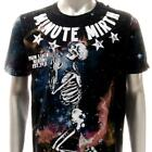 m347b Minute Mirth T-shirt S M L XL Tattoo VTG Skull Pray Heaven God Ghost Demon
