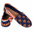 Chicago Bears 2016 Womens Canvas Stripe Shoes