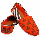 Cleveland Browns 2016 Womens Canvas Stripe Shoes
