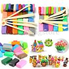 5 Tools+24/32 Colors Polymer Clay Fimo Block Modelling Moulding Sculpey DIY Toys image