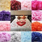 500 QUALITY SILK ROSE PETALS WEDDING PARTY BANQUET TABLE CONFETTI DECORATIONS