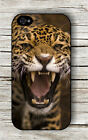 JAGUAR HEAD ANGRY BIG CAT CASE FOR iPHONE 4 5 5C 6 -drf5Z