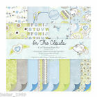 First Edition 6x6 Premium Paper Pad - ON THE CLOUDS - Free UK p&p Cardmaking