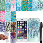 For Apple Iphone 6 Plus 6S Plus 5.5 inch TPU PATTERN SILICONE Case Cover + Pen