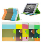 For Apple iPad 2 3 4 Leather Smart Magnetic Stand Case Flip Stand Cover Colours