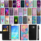 For Samsung Galaxy Note 5 N920 Magnetic Flip Wallet POUCH Case Phone Cover + Pen