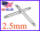 18mm 20mm 22mm 24mm 26mm FAT Spring Bar Pin 2.5mm w/ 0.8mm tip ends for Diver