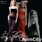 Spaghetti Strap Stripes Open Crotch Bodystockings with Faux Top and Faux Shorts