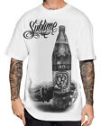 Sullen Clothing Sublime Sippin' Mens T Shirt White Tattoo Tee