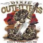 """Dixie Outfitters """" DON'T TREAD ON ME """" 50/50 Gildan/Jerzees T SHIRT"""