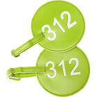 pb travel Number Luggage Tag 312 - Set of 2 4 Colors Luggage Accessorie NEW