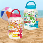 PORTABLE CARRY WATER DRINKS DISPENSER TAP TABLE TOP PICNIC BBQ TRAVEL SERVING