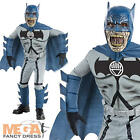 Deluxe Zombie Batman Boys Superhero Fancy Dress Halloween Kids Costume Outfit