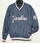 Vintage 90s New York YANKEES Pullover Windbreaker SEWN Letters NWT NEW Old Stock