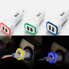 2.1A LED USB Dual 2 Port Adapter Socket Car Charger For Iphone 6 6S USB Charger