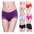 Women Bamboo Fiber Antibacterial Lady's Underpants Lace Briefs Underwear Panties