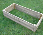 tanalised decking raised bed vegetable garden planter treated wood 3 4 5 6 ft