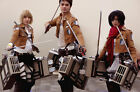 Attack on Titan Recon Corps Complete Outfit Costume Set for Cosplay Party Eren