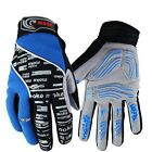 Cycling Gloves Full Finger Mountain Bike Bicycle Gloves GEL Padded Shockproof