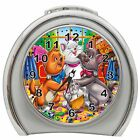THE ARISTOCATS ALARM CLOCK NIGHT LIGHT TRAVEL TABLE DESK NEW