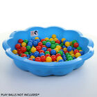 Sand Pit Paddling Pool Blue Plastic Outdoor Garden Kids Childrens Toy Play Water