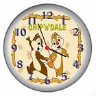 CHIP N DALE ROOM DECOR WALL CLOCK NEW