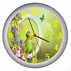 KERMIT THE FROG ROOM DECOR WALL CLOCK NEW