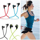 Running Wireless Bluetooth Headset Stereo Headphone Earphone for Smartphone