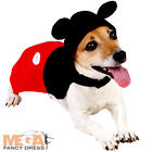 Mickey Mouse Dog Fancy Dress Disney Pet Puppy Animal Cartoon Costume Outfit New