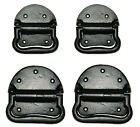 CAST IRON TRUNK, CHEST HANDLES, Japanned Black Finish. Sold in Pairs. 2 sizes