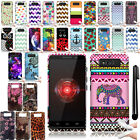 For Motorola Droid Mini XT1030 Art Design TPU SILICONE Case Cover Phone + Pen