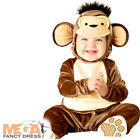 Mischievous Monkey 0-24 Months Baby Fancy Dress Animal Toddler Infant Costume