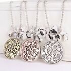 Fashion Star Flower Chain Necklace Glow In The Dark Locket Pendant Jewelry Gifts
