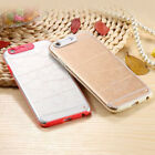 LED Flash Lighting Armor Case Clear Remind Incoming Call Cover Skin For iPhone@