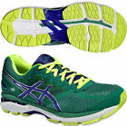 ASICS GT 2000 4 Mens Pronation Support Road Running Sports Trainers Shoes Green