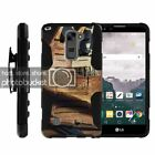 LG Stylus 2 | LS775 High Impact Belt Clip + Holster Stand Outdoor Hunting