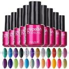 Hot Soak-off UV Led Gel Polish Base Top Coat Nail Art Glitters Lamp Manicure DIY