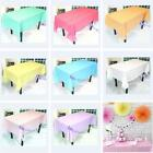 Disposable Tablecover Table Cloth Party Supplies Tableware Rectangle Decor LA