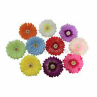 50 Silk Flower Heads Artificial Gerbera Daisy Wedding Birthday Party Decor NEW