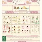 Belle & Boo II Decoupage Pad 8 designs choose from 24 sheets or 8 sheets