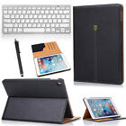 "For Apple iPad Pro 9.7"" PU Leather Folio Case Cover+Wireless Bluetooth Keyboard"
