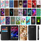 For Motorola Droid Turbo XT1254 Flip Wallet Leather POUCH Case Phone Cover + Pen