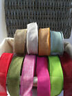 ELEGANZA Country Hessian Wire Edged Ribbon - 38mm - various lengths/colours NEW!