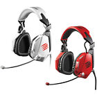 MadCatz F.R.E.Q. 5 PC & MAC Wired Stereo Gaming Headset Sound with Microphone