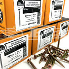 FULL CASES OF 10g (5mm) PROFESSIONAL TIMCO YELLOW WOOD SCREW POZI COUNTERSUNK