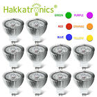 6W LED Spotlight 12V MR16/GU5.3 Spot Bulbs Red/Green/Bule/Orange, 10pcs per Pack