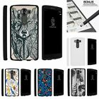 For LG V10| LG G4 Pro| Slim Fit Hard 2 Piece Case Drawn Designs