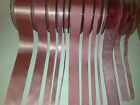 Berisfords D/Faced Satin, Sheer & Grosgrain Ribbon - DUSKY PINK 60 - 3mm to 50mm