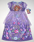 Nwt New Disney Princess Sofia the First Nightgown Pajamas Costume Toddler + Girl
