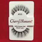 CHERRY BLOSSOM EYELASHES STYLE #523 100 HUMAN HAIR CHOOSE from VERIETY QTY SET